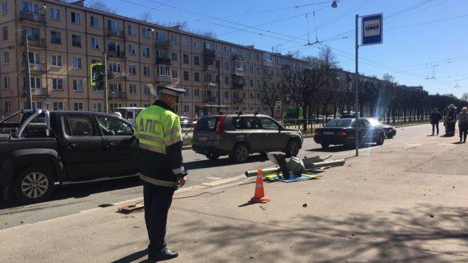 Иностранная машина сбила школьника наНовочеркасском проспекте