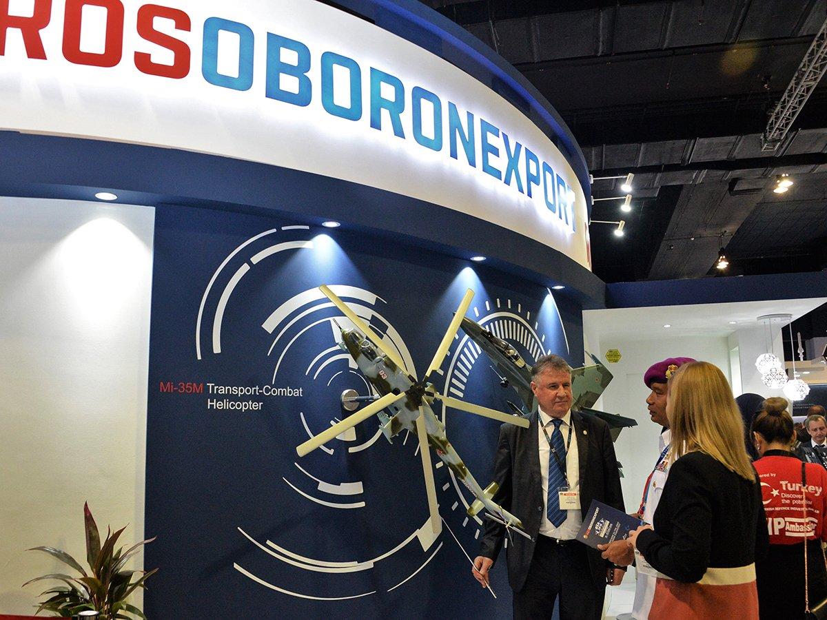 США ввели санкции против «Рособоронэкспорта»