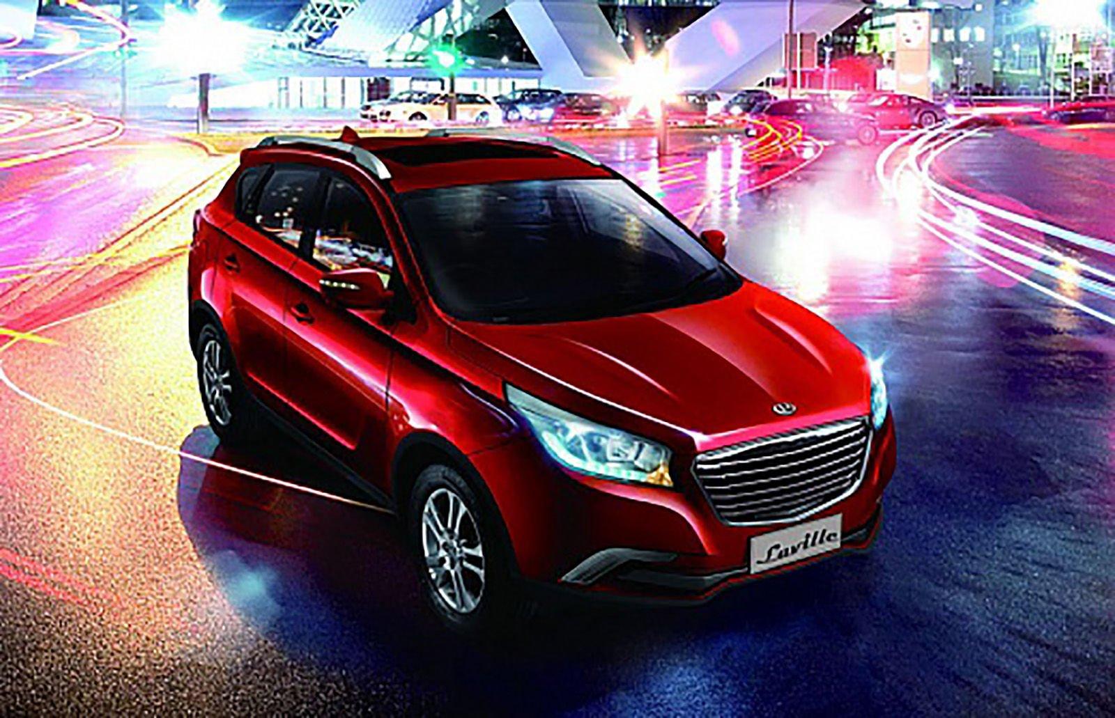 Китайский паркетник Hawtai Laville будет продаваться в РФ