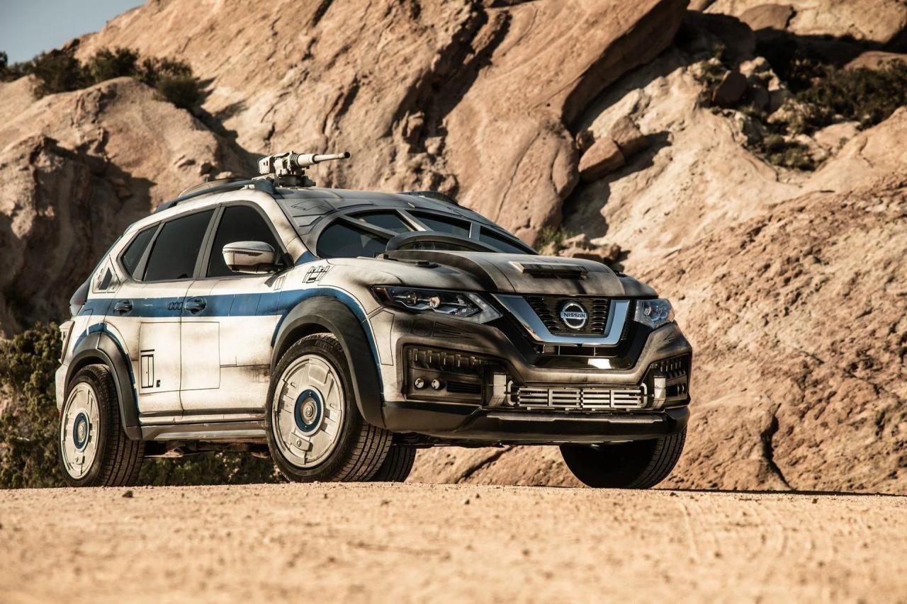 Кроссовер Nissan X-Trail превратили вкосмолет Хана Соло