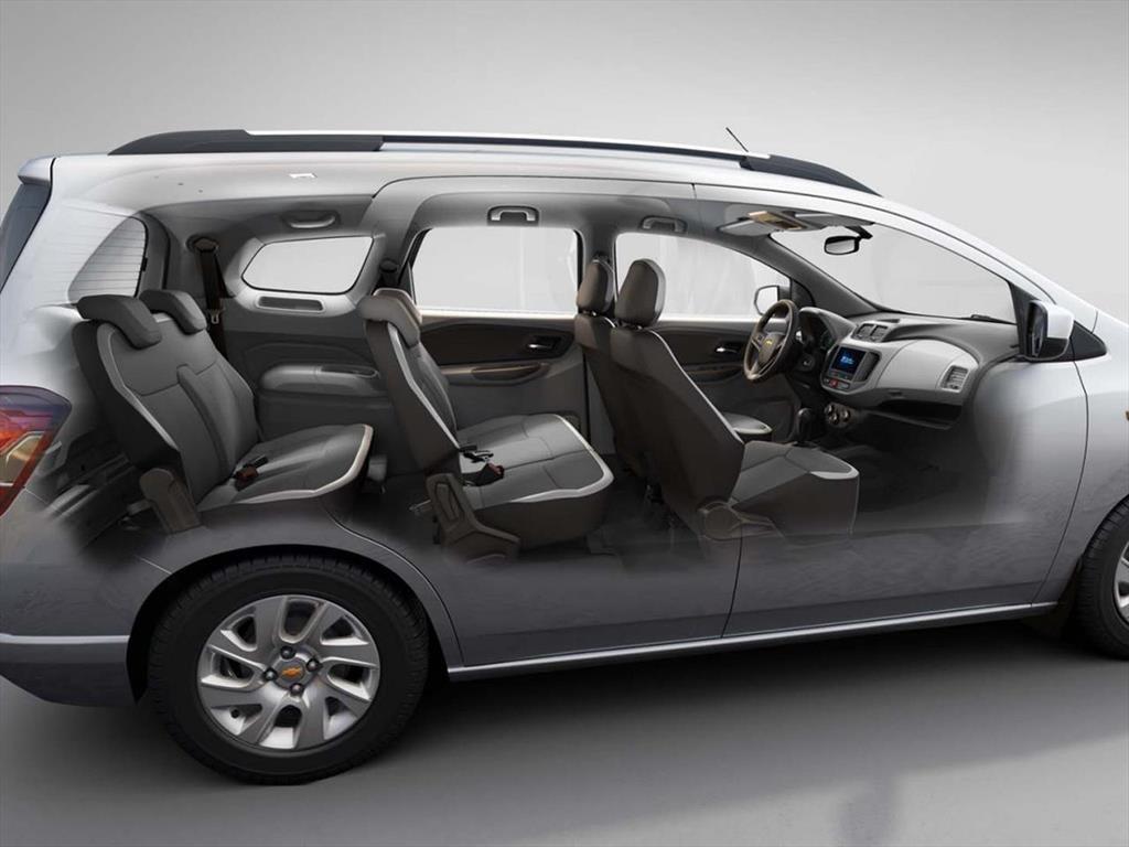 Обновлённый компактвэн Chevrolet Spin покажут всередине мая class=