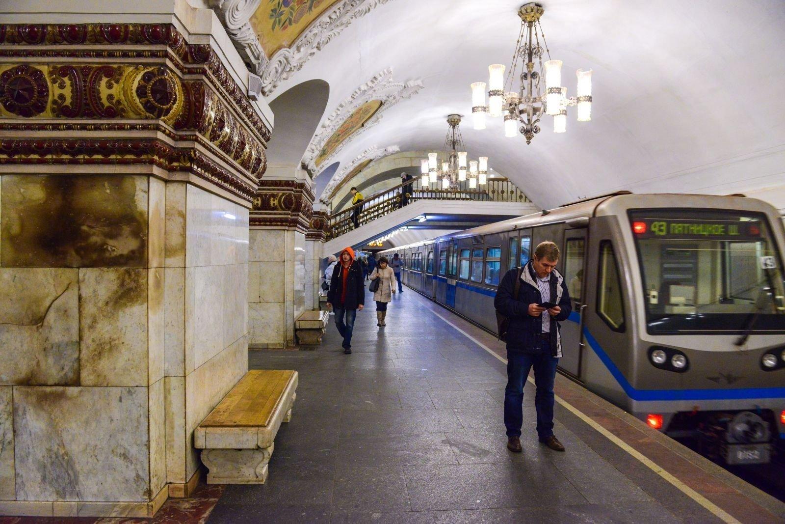 Канал «Москва 24» первым вмире начал вещание впоездах метро