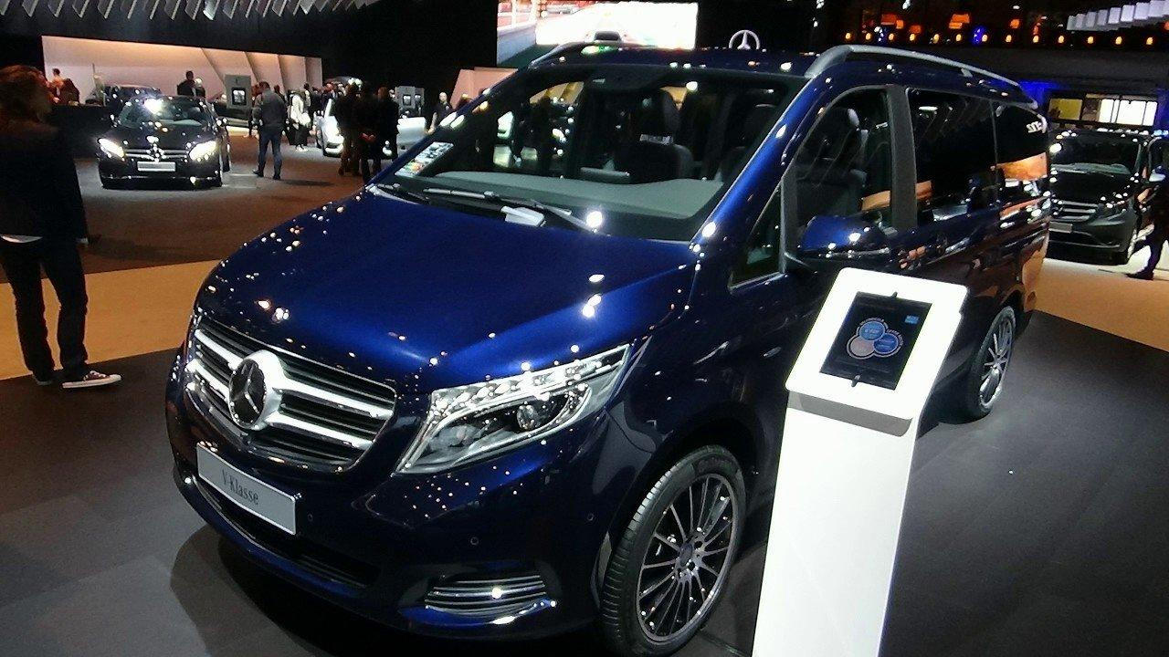 Benz V-Class получил новейшую Night Edition