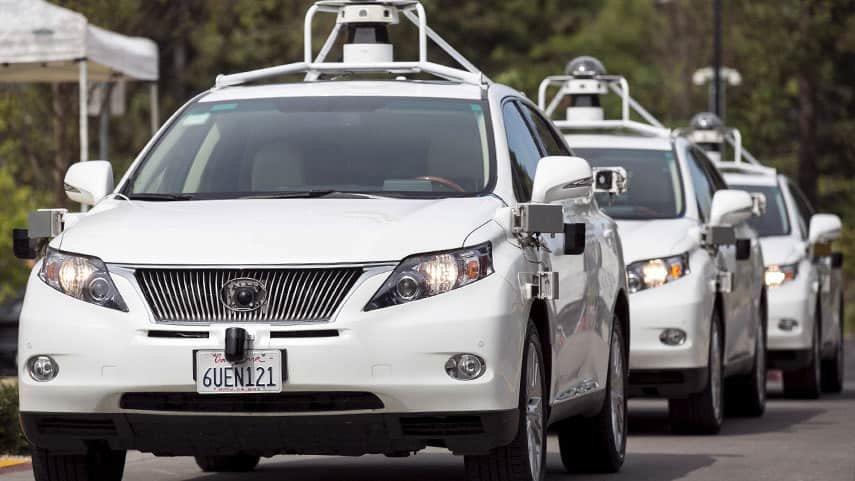 Парк автомобилей  беспилотных машин Apple стал больше, чем уTesla