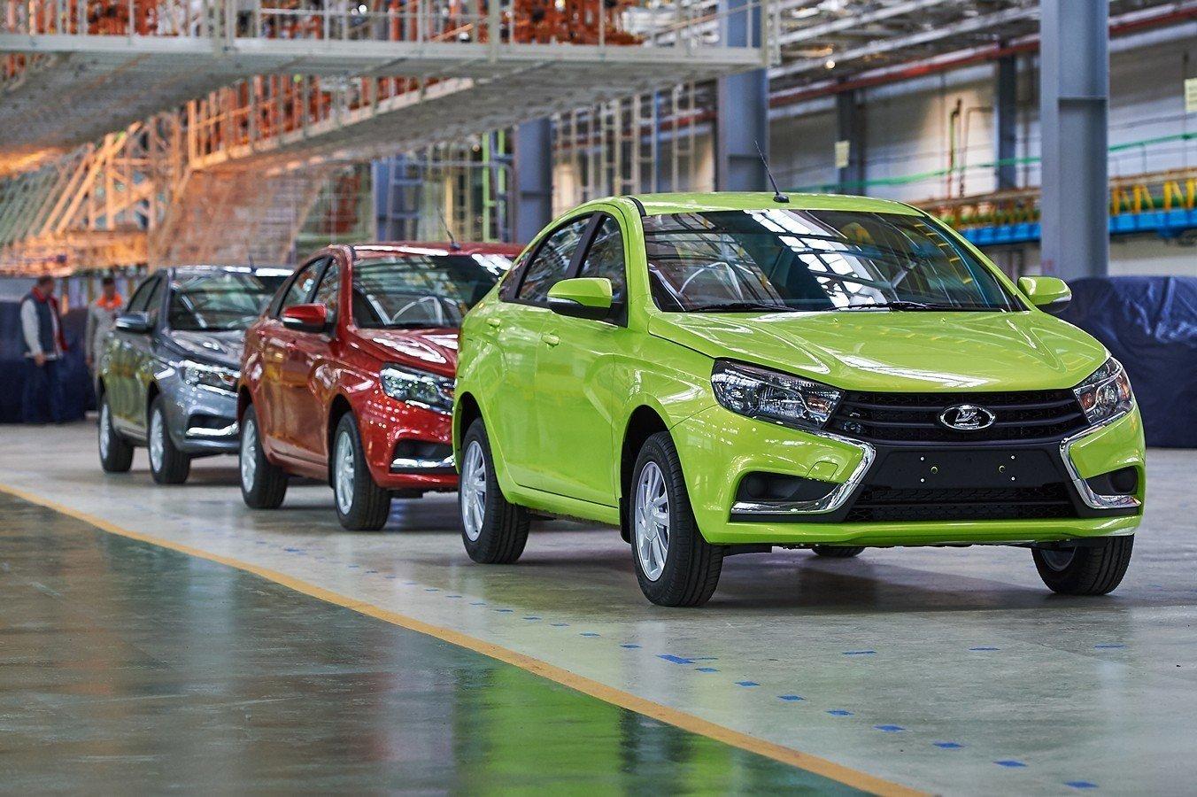 «АвтоВАЗ» увеличит продажи Лада  в 2018г  на12%