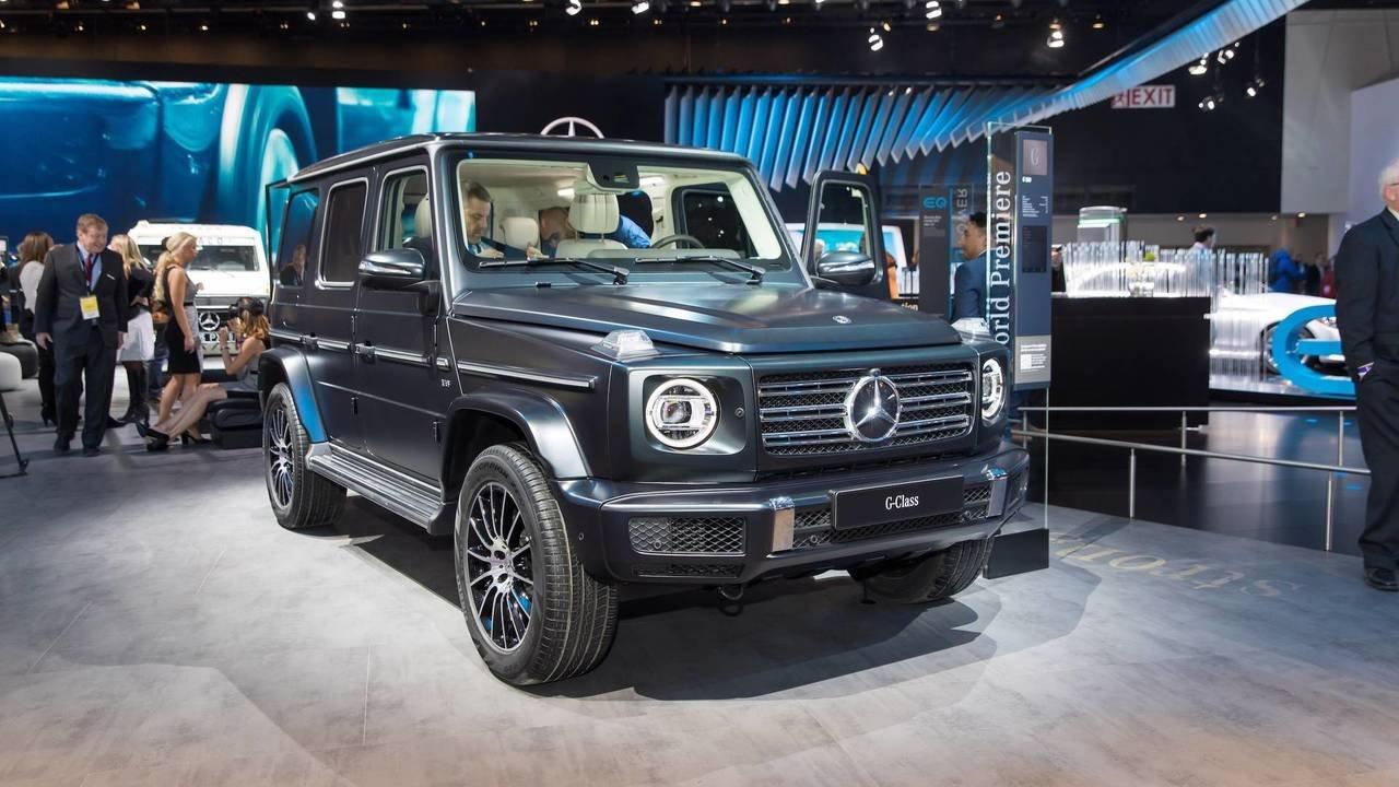 Стартовало серийное производство нового Mercedes G-Class