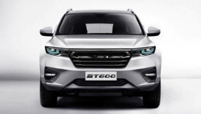 Компания Zotye представила серийный джип Zotye T600 обновленного поколения