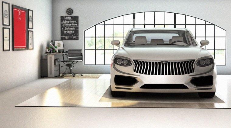 Русские дизайнеры показали Волгу будущего