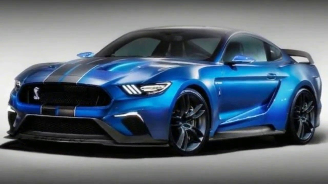 Форд обнародовал 1-ый тизер самого мощного Форд Mustang Shelby GT500