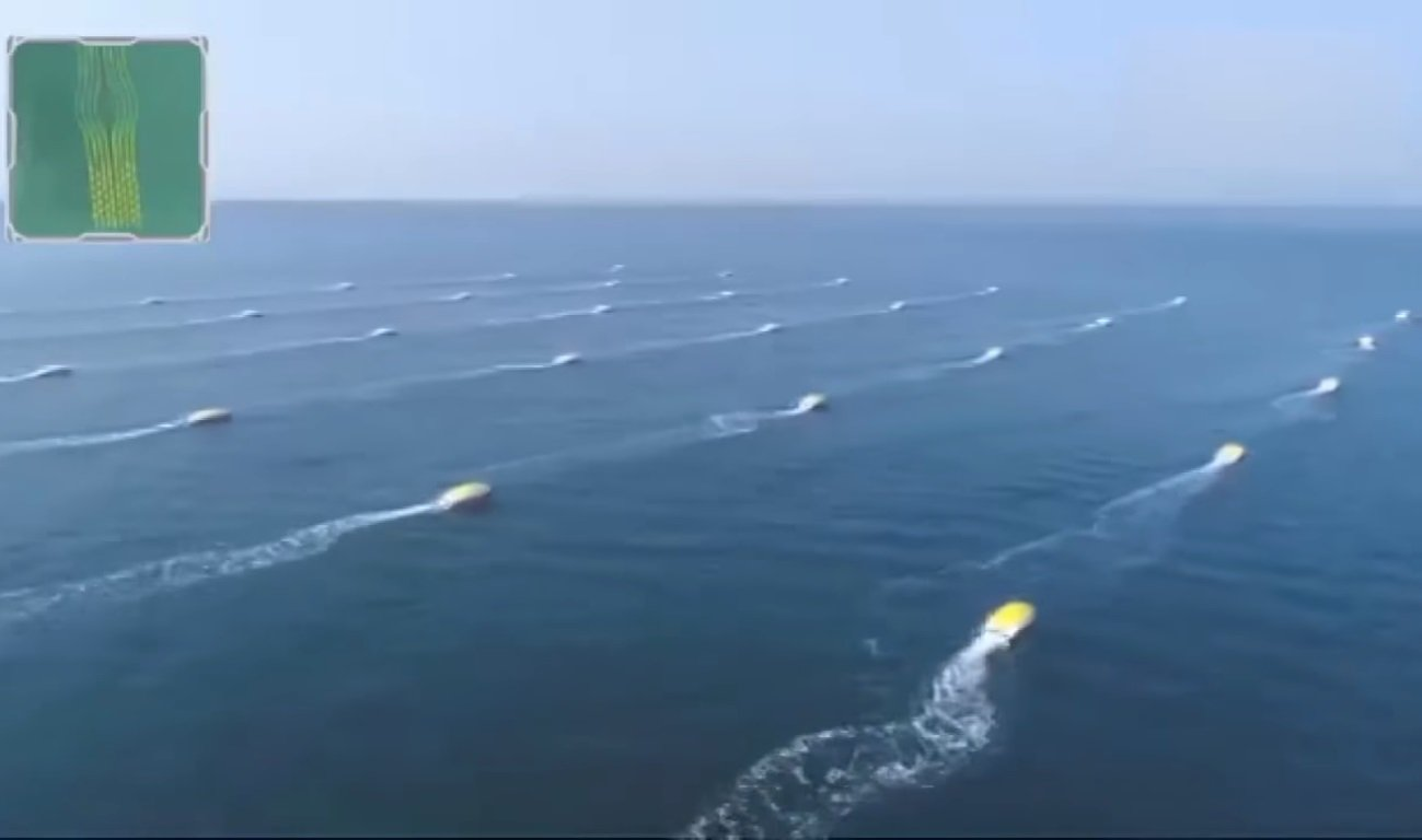 ВКитайской республике прошли тестирования флотилии роботов