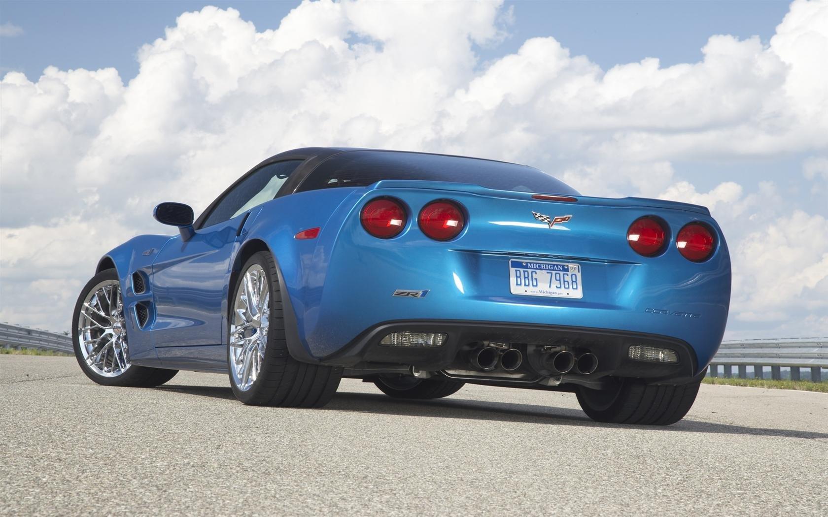 Топ-менеджерGM разбил самый мощный Chevrolet Corvette