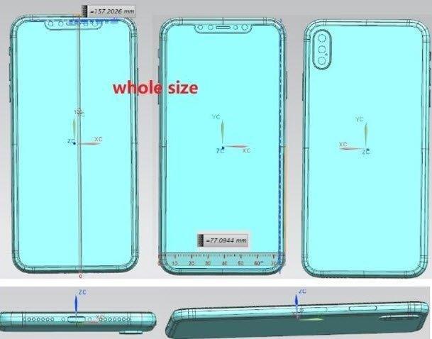 Громадный iPhone X Plus впервые на изображениях