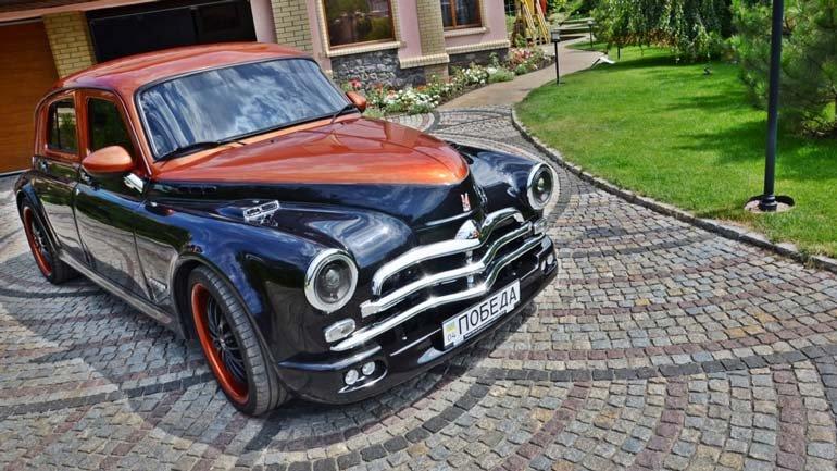 В Украине автолюбитель скрестил модель ГАЗ М-20 «Победа» с BMW на видео