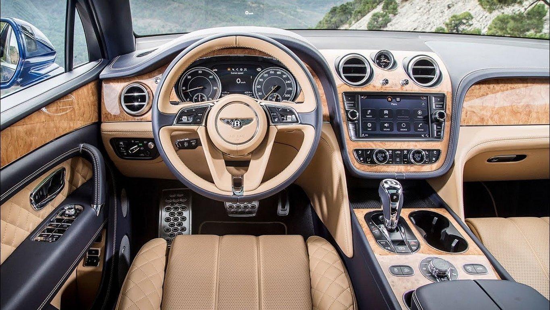 Британцы готовят «заряженный» кроссовер Bentley Bentayga
