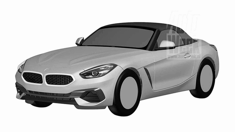 Серийный БМВ Z4 Roadster представлен наофициальных изображениях
