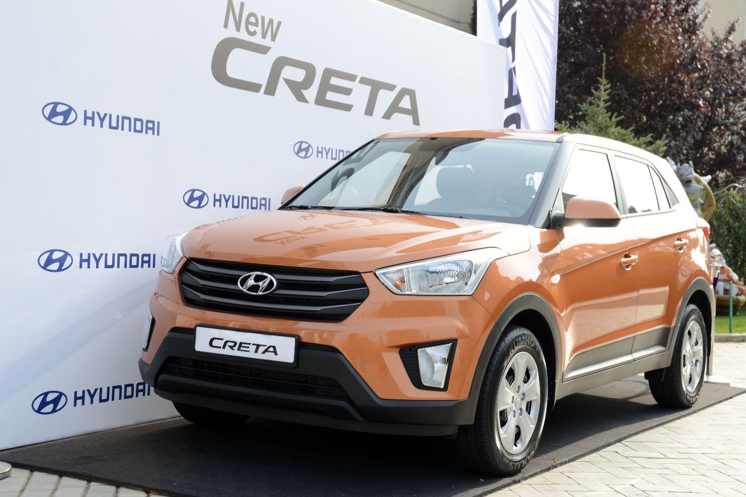 Hyundai Creta стал лидером рынка SUV в городах-миллионниках России