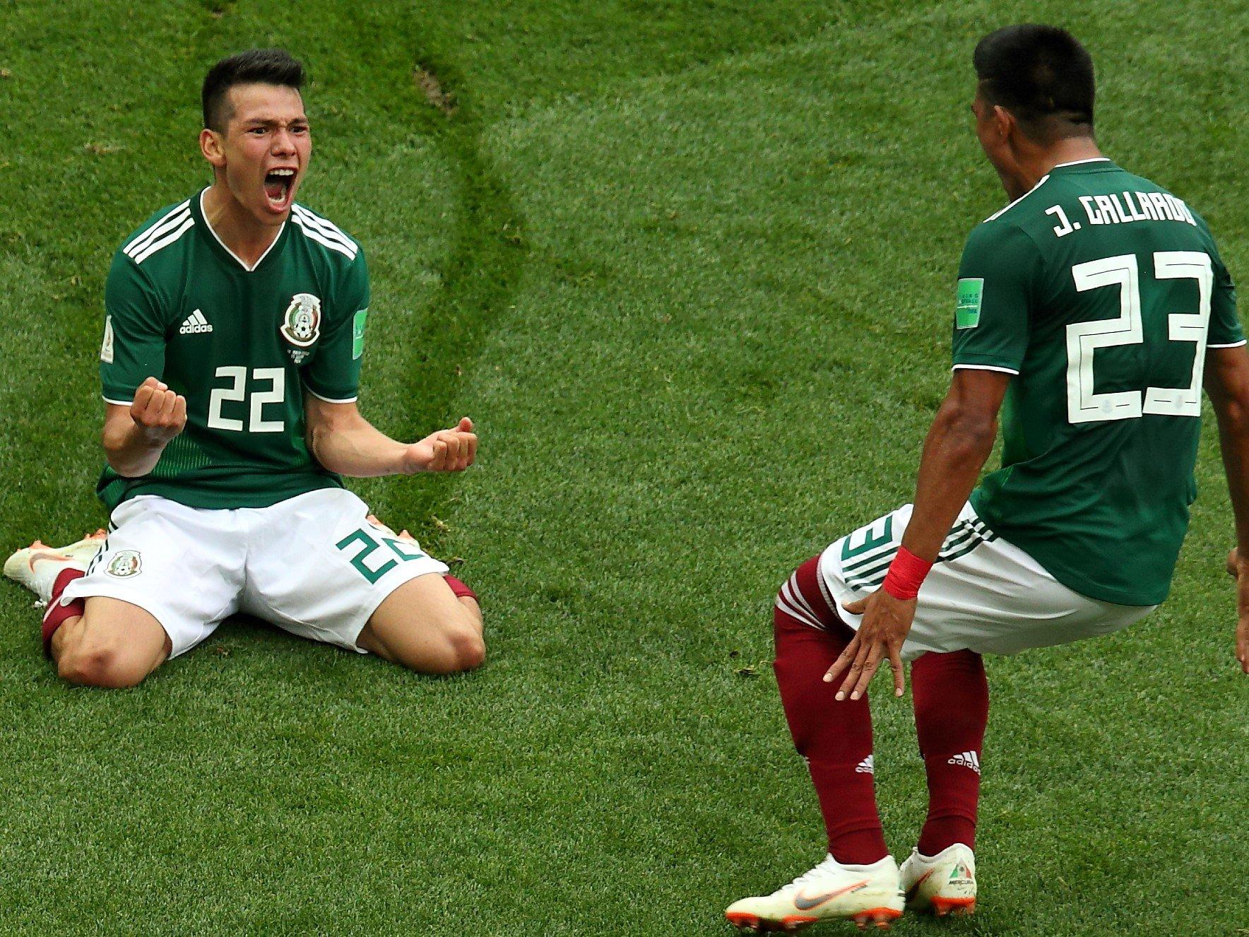 Мексика Германия фото поражения