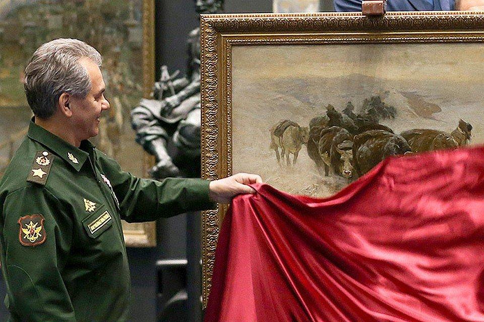 Навыставке вХакасии покажут работы руководителя Минобороны Сергея Шойгу