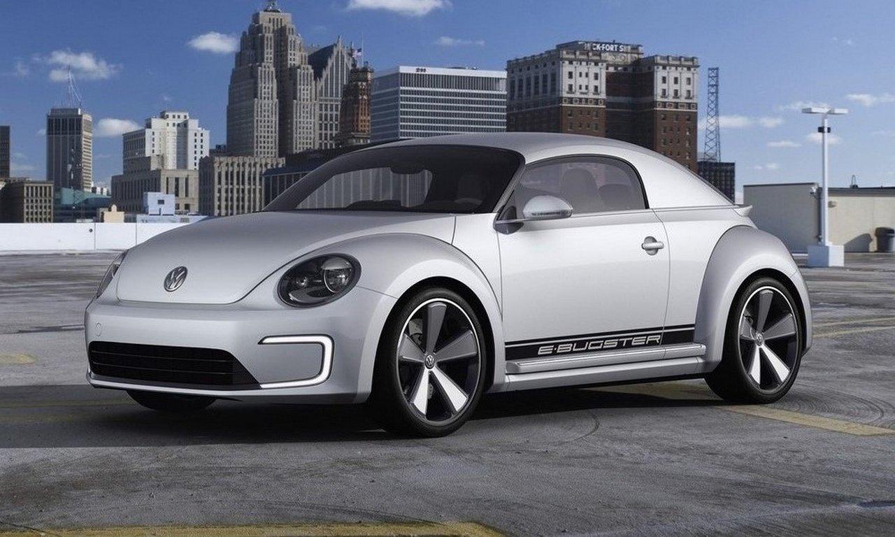 Фольксваген Beetle будет четырехдверным электрокаром через два года
