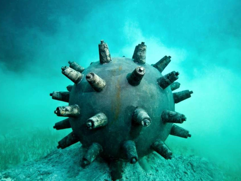 ВЯпонии создадут роботов для поиска морских мин