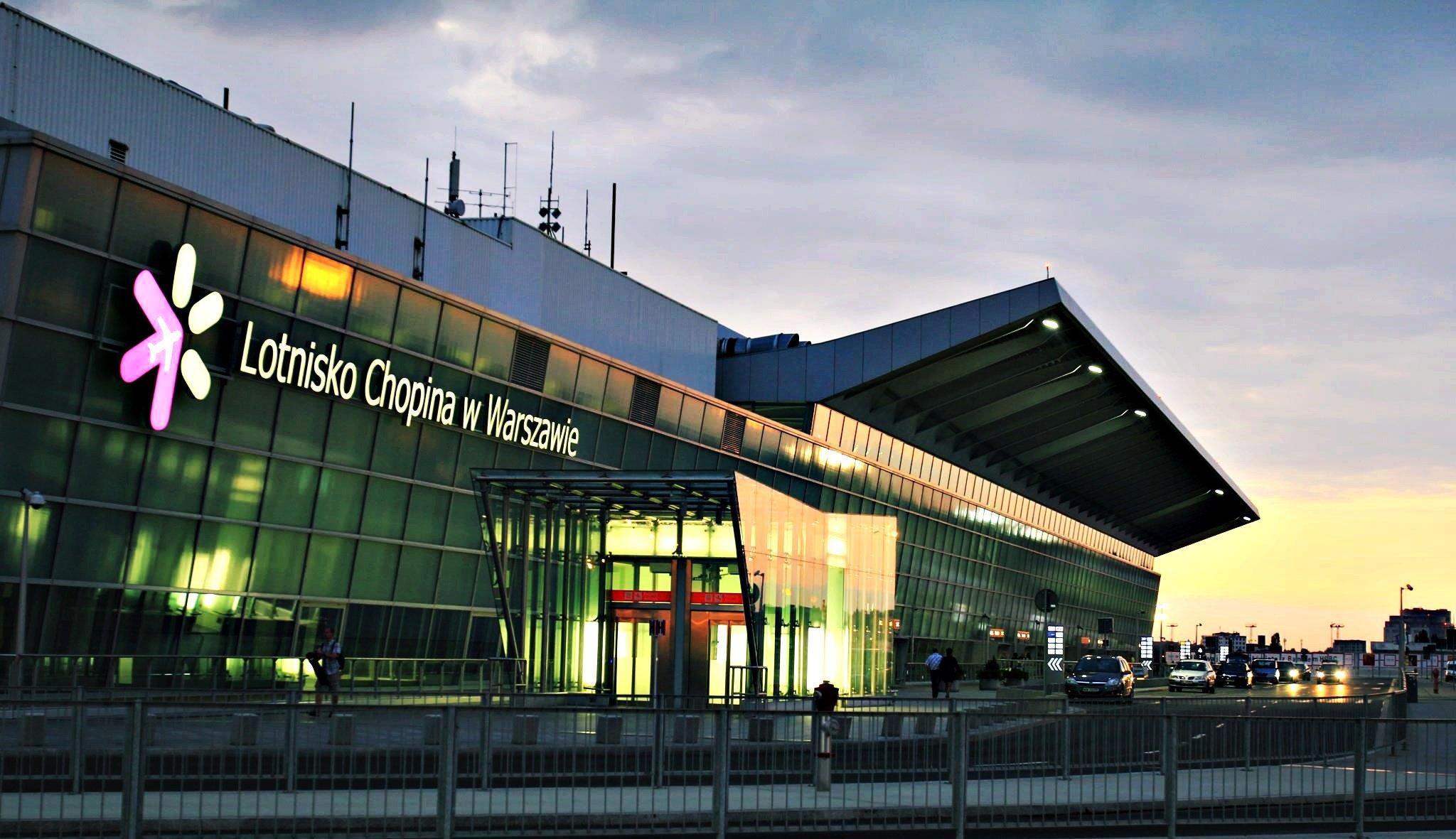 Ваэропорту Польши произошла утечка неизвестного токсичного вещества