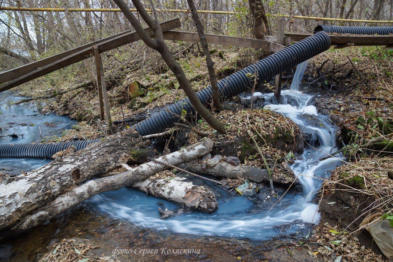 ВУдмуртии возбудили уголовное дело заслив сточных вод