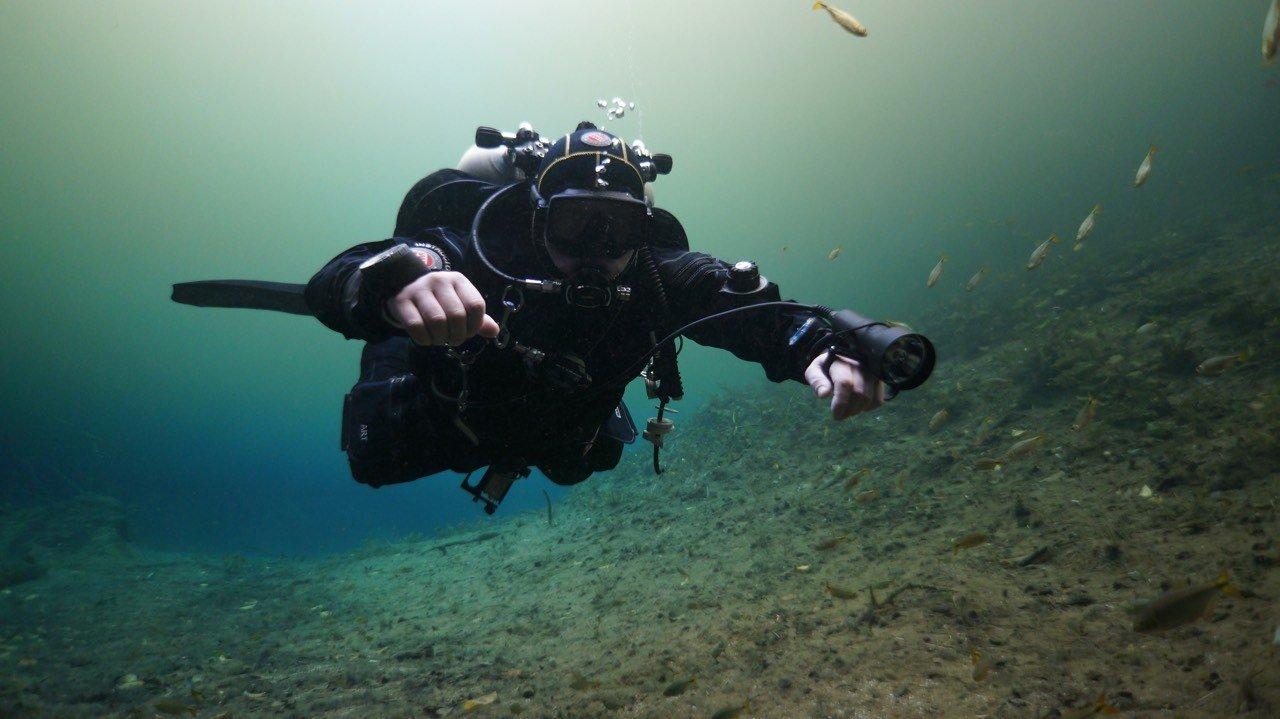 В Англии  ученик  разработал реактивный подводный ранец