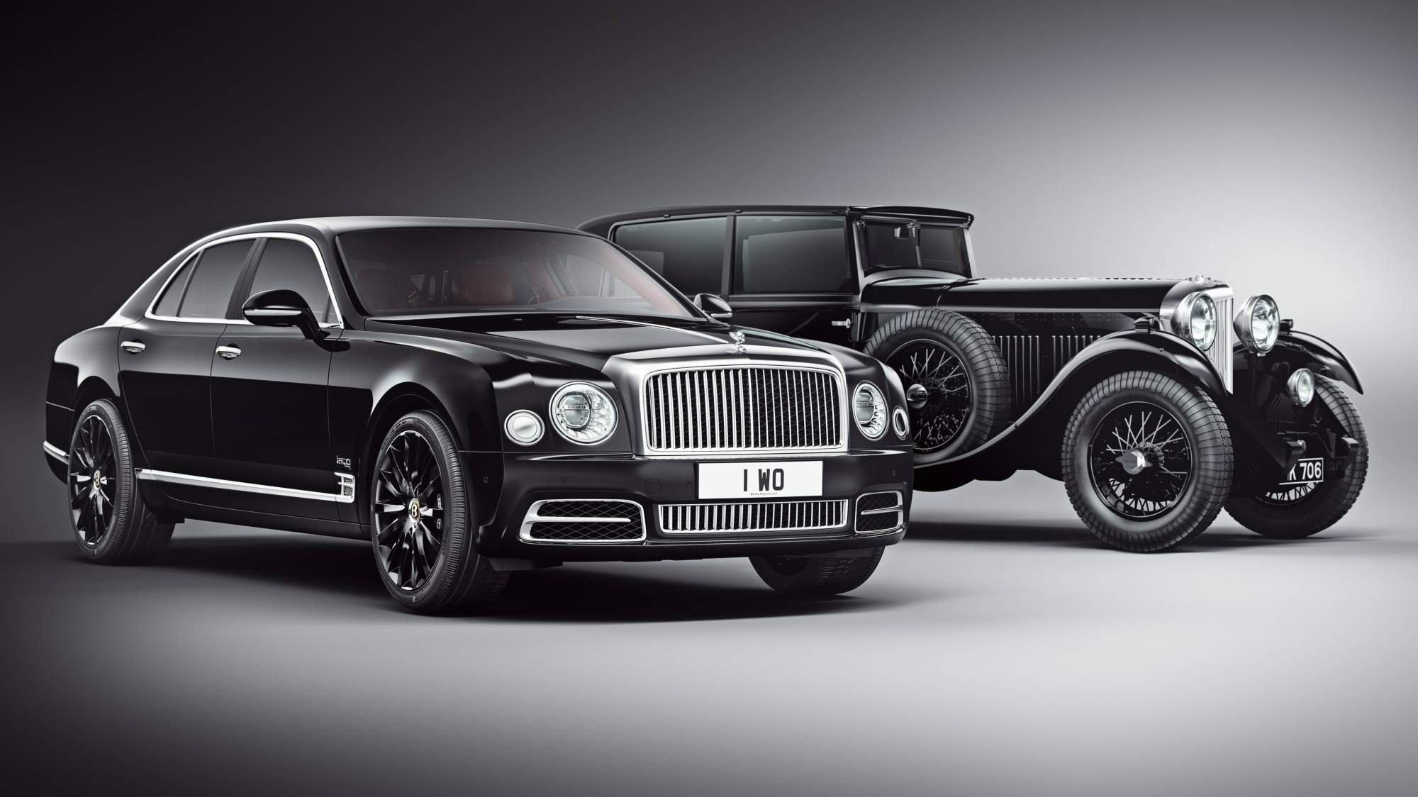В новых Bentley Mulsanne появится деталь 1930 года
