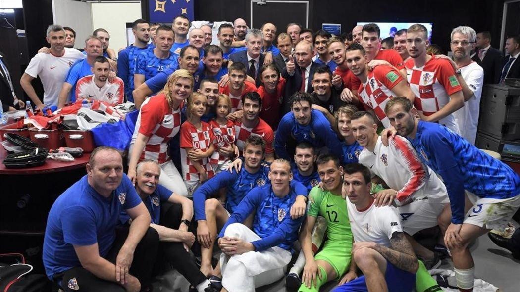 Футболисты сборной Хорватии пожертвуют призовые деньги детям
