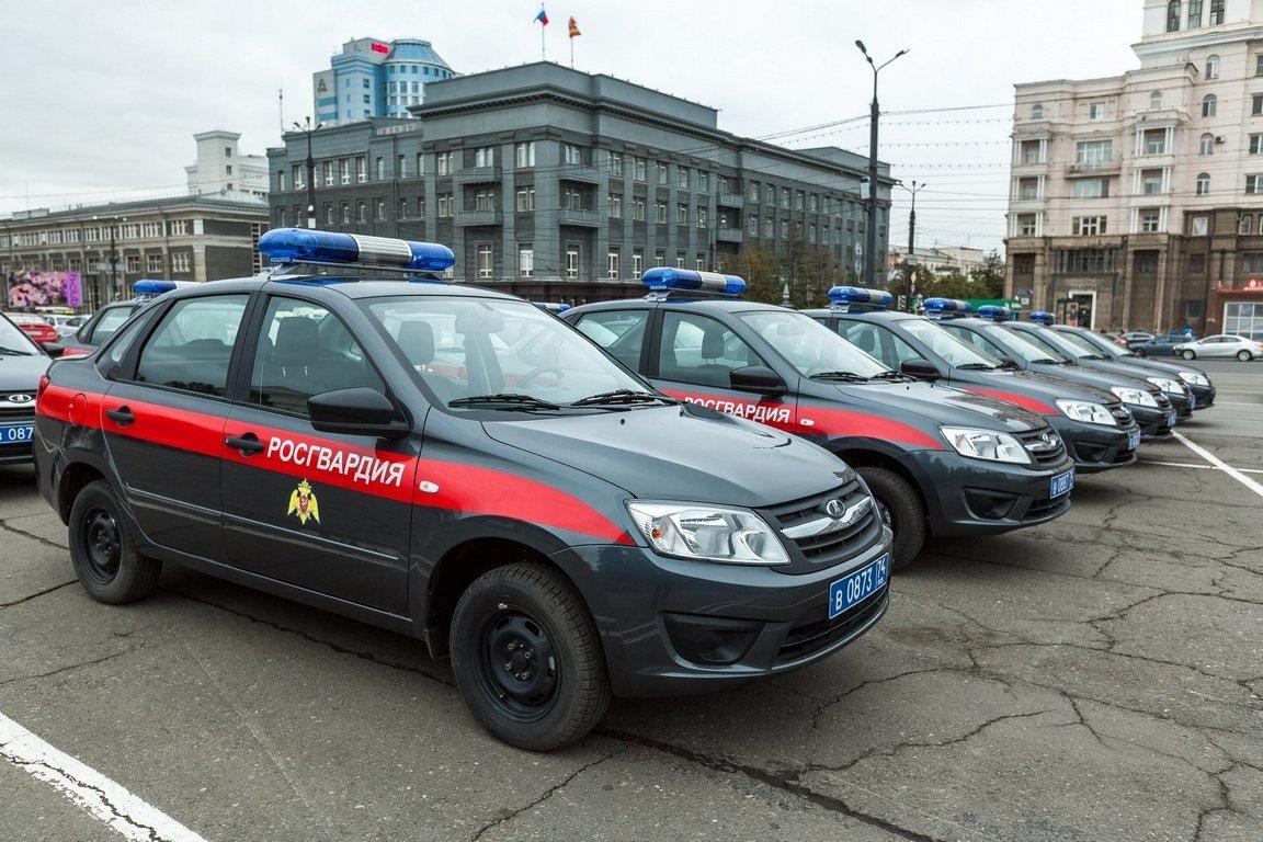 Водителям служебных машин Росгвардии разрешили нарушать ПДД