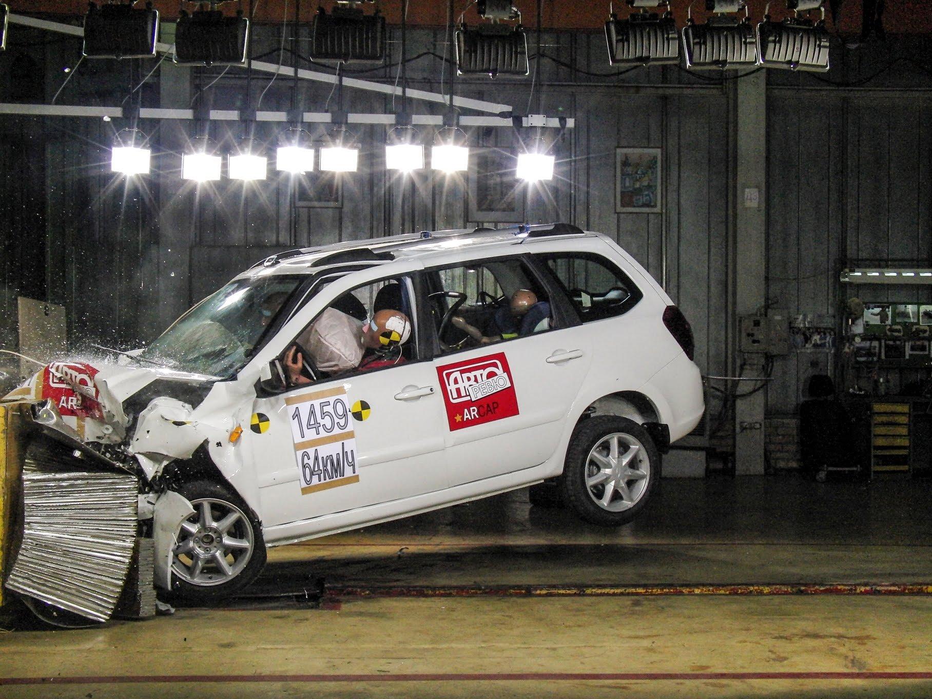 В Российской Федерации  начнут проводить общенациональные  краш-тесты авто