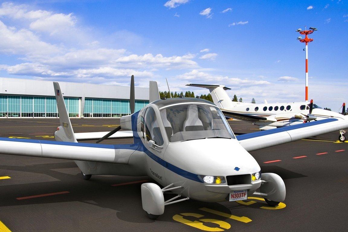 Летающий автомобиль от Terrafugia поступит в продажу в 2019 году
