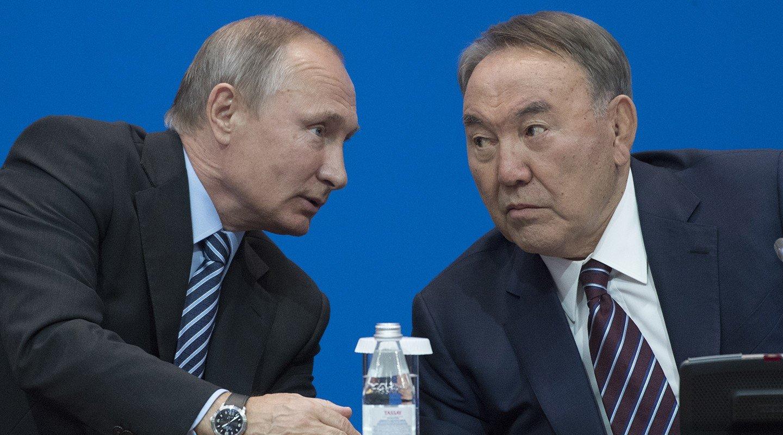 ВКремле назвали темы телефонного разговора В.Путина иНазарбаева