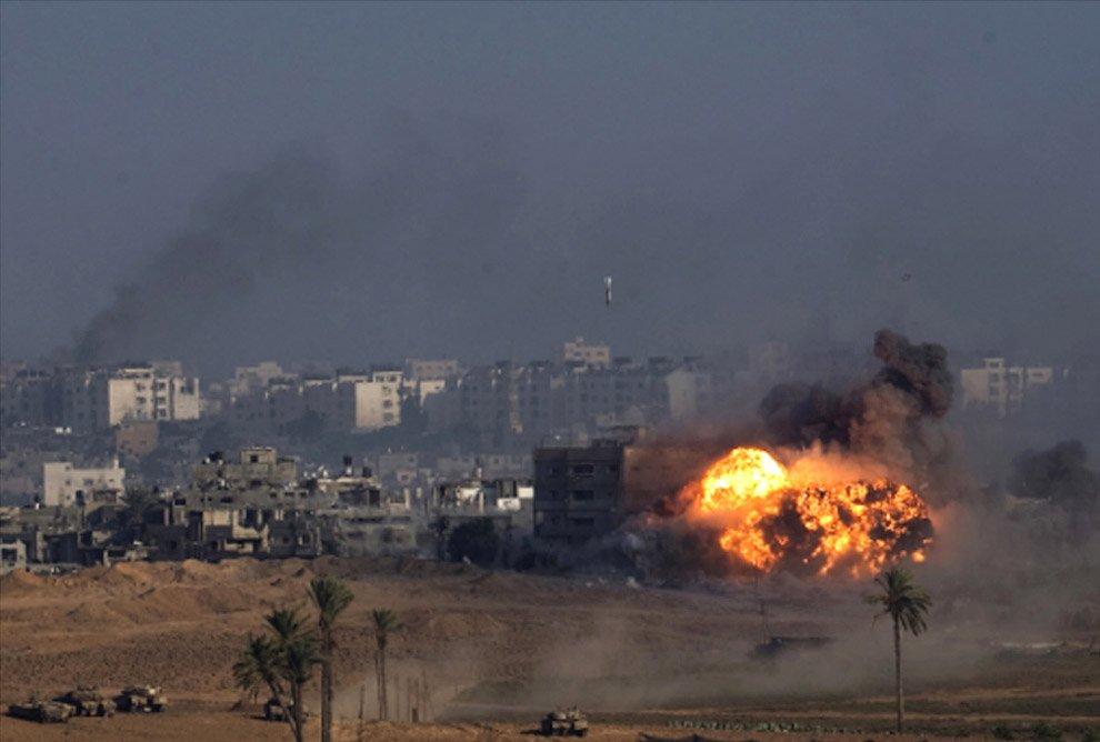 Трое палестинцев погибли при обстреле израильскими военнослужащими награнице сектора Газа