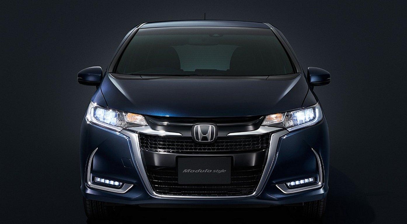 Компактвэн Хонда Fit стюнинг-пакетом Modulo Style поступил напродажу