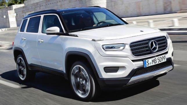 Benz создаст конкурента для Range Rover Sport