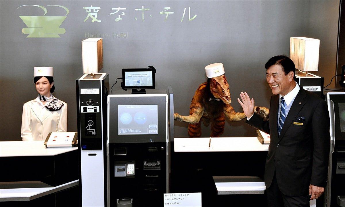 Автоматизм: В Китае открыли отель без персонала