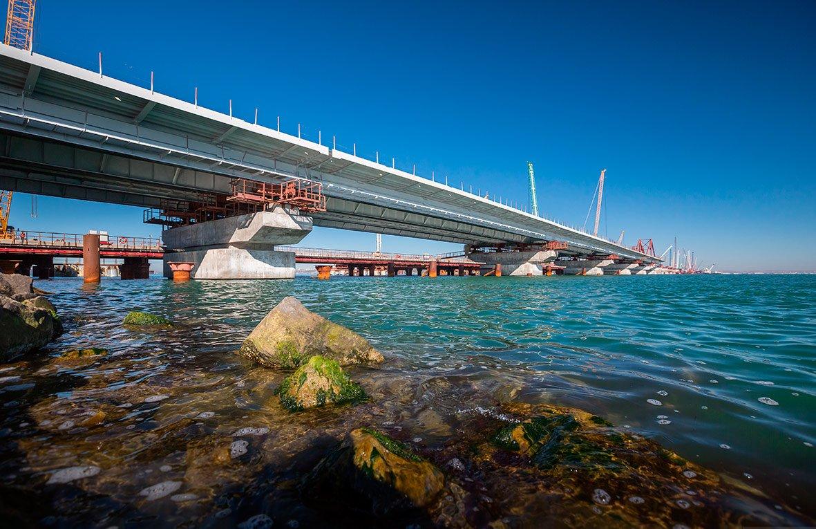 строительство моста в крым сегодня фото зависит вашего желания