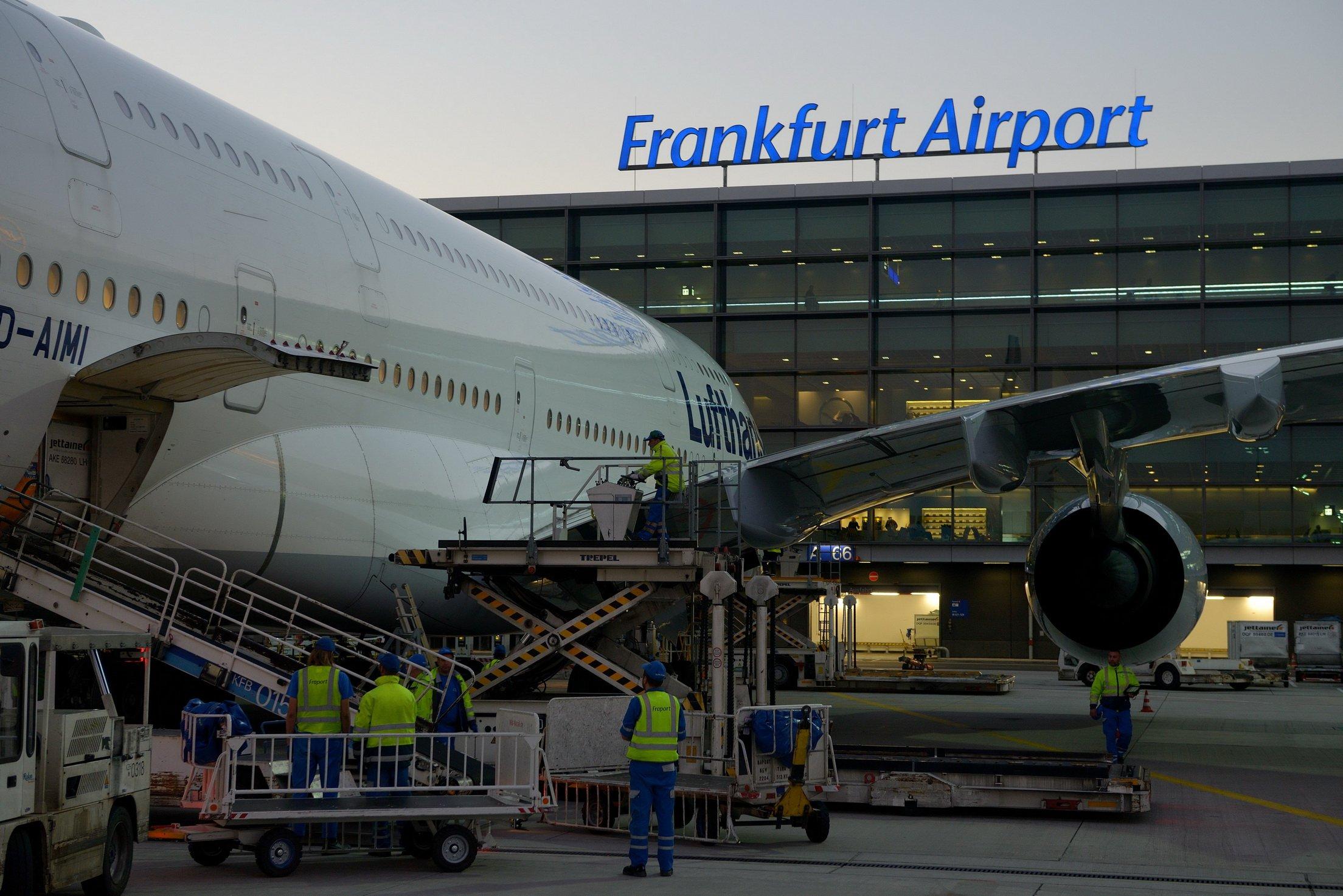 Аэропорт франкфурт картинки