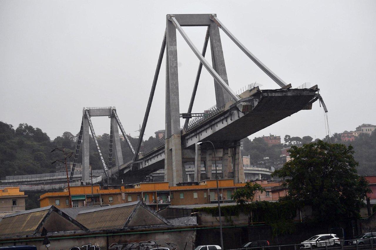 Власти Италии выделили €5 млн. наустранение последствий обрушения моста вГенуе