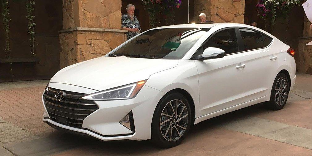 Hyundai представила обновленный седан Hyundai Elantra
