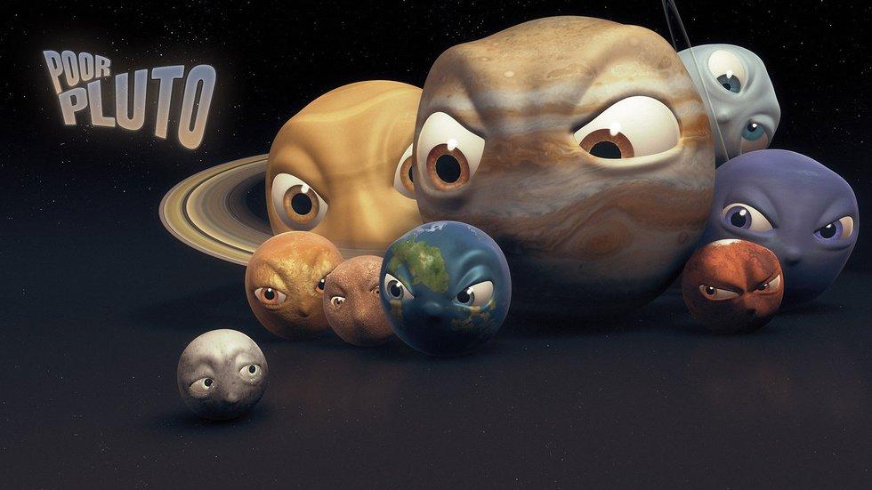 Прикольные картинки про планеты