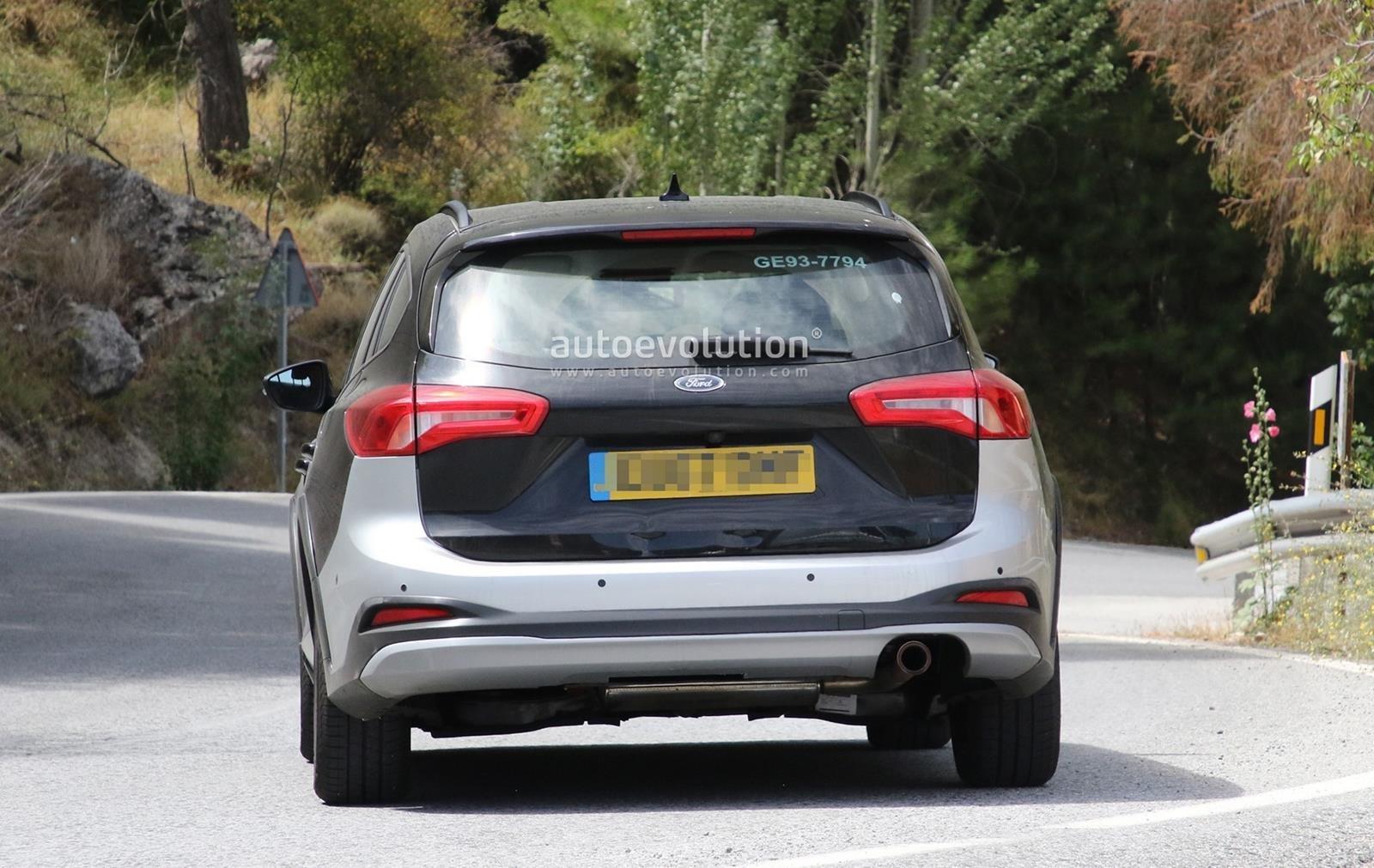 Вседорожный универсал Форд Focus Active Wagon рассекречен нафото