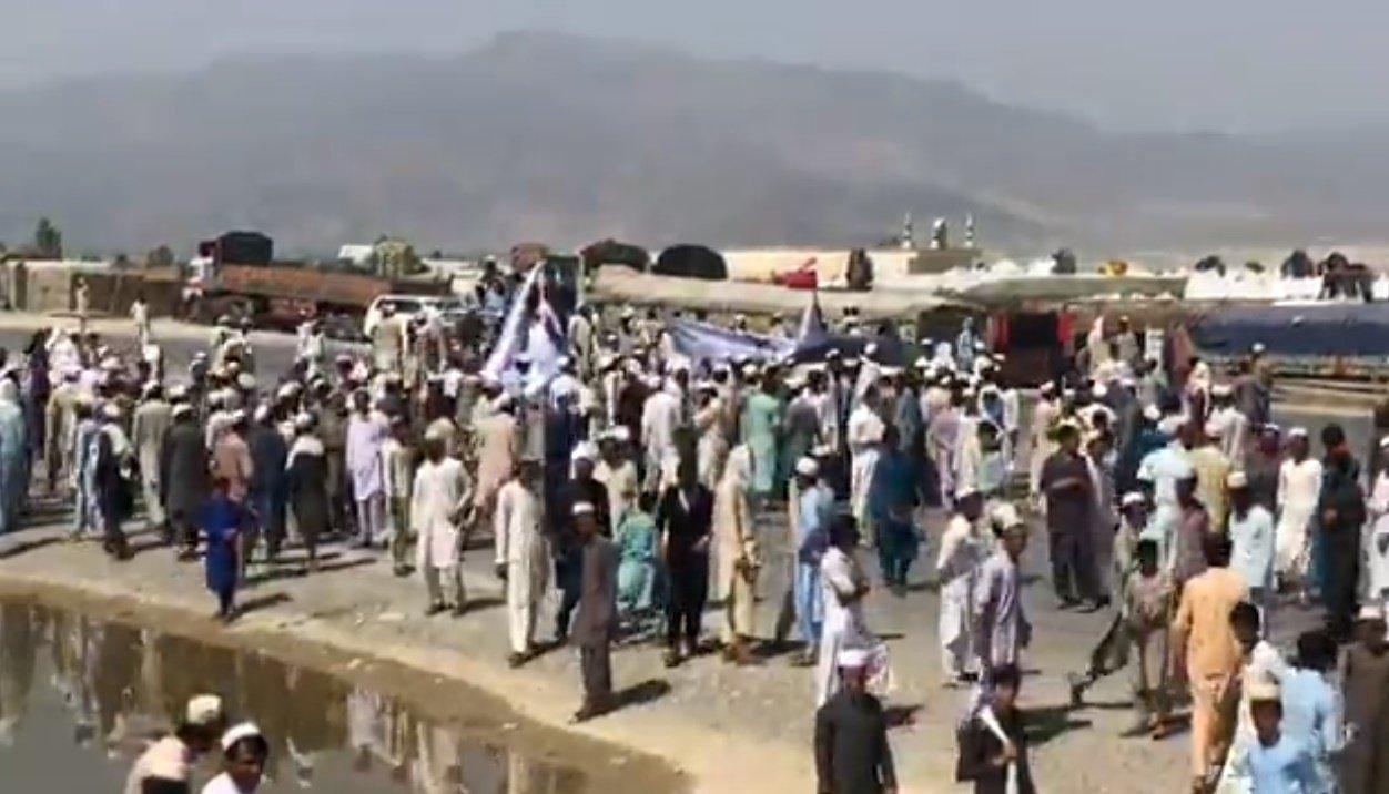 Смертник подорвал себя втолпе демонстрантов— Теракт вАфганистане