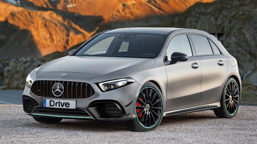 Mercedes анонсировал спортивную версию нового хэтчбека AMG A35