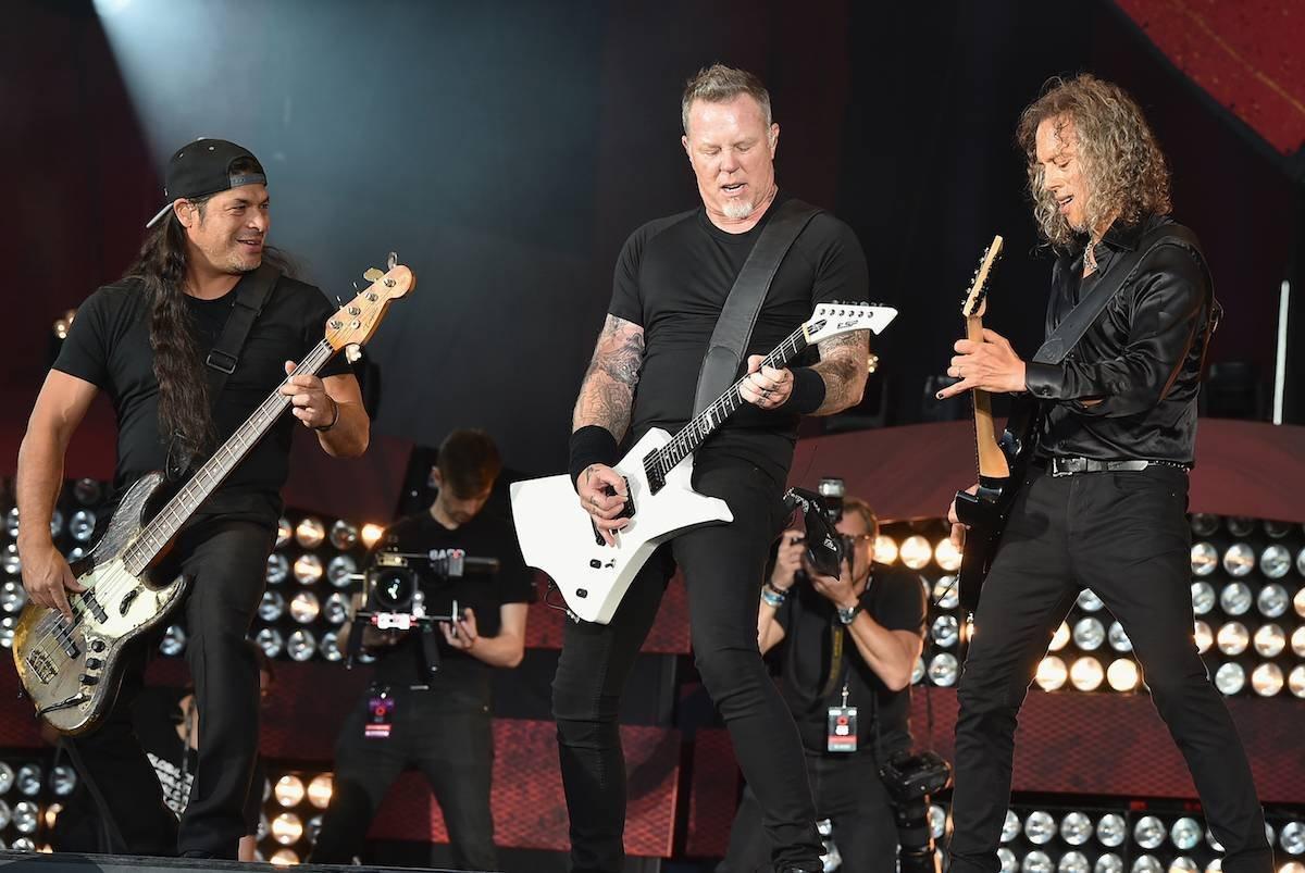 Рок-группа Metallica даст концерт в«Лужниках» летом 2019 года