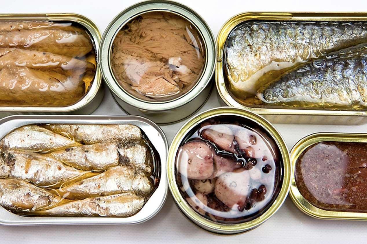 Рыбные консервы при мясной диете