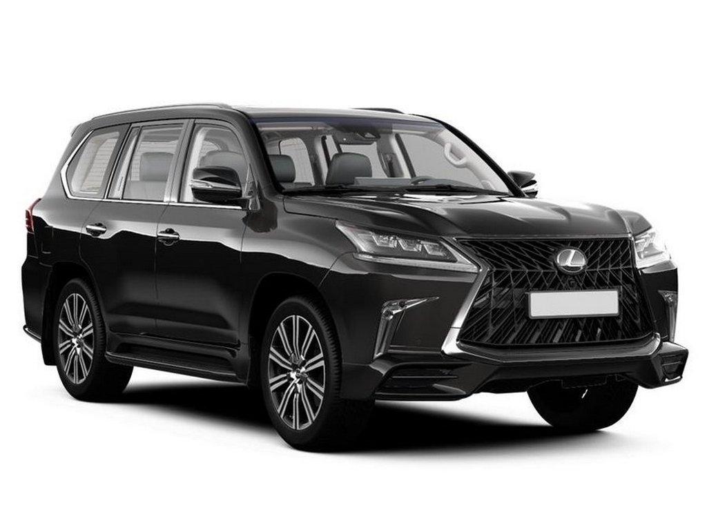 В России появился внедорожник Lexus LX в спецверсии Black Vision