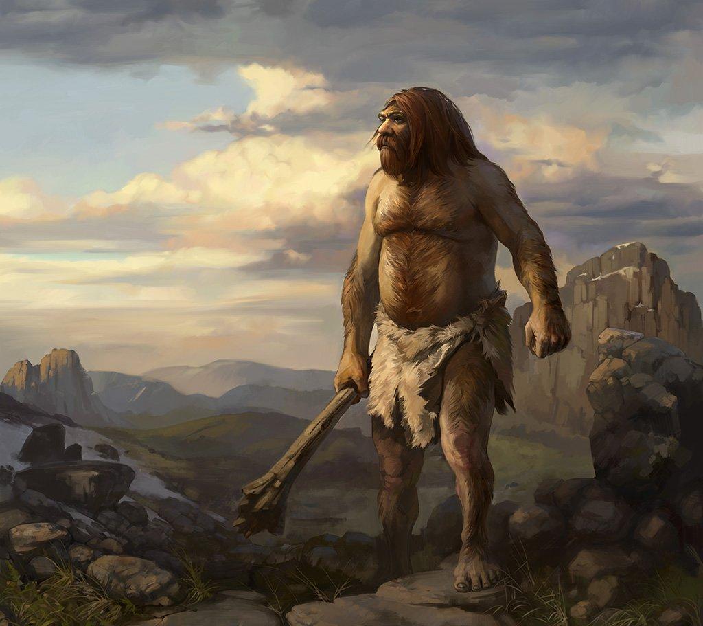 Поздравительной, неандертальцы картинки смешные