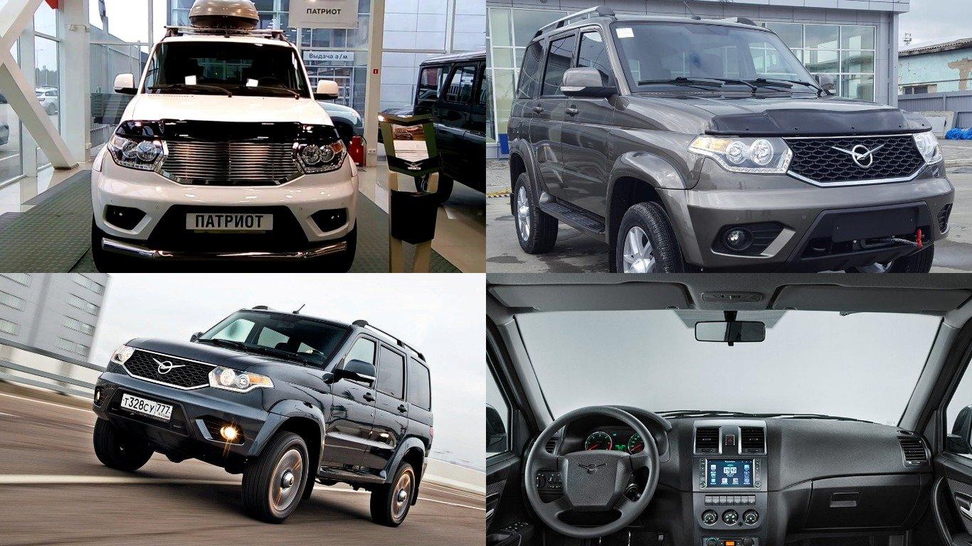 Улучшенный УАЗ «Патриот» появился впродаже
